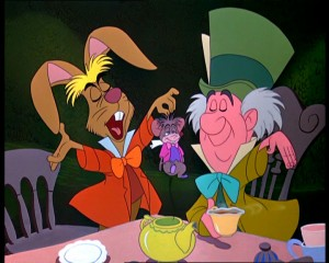 March Hare, Mad Hatter, and Doormouse