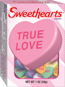 Box of Necco Candy Hearts
